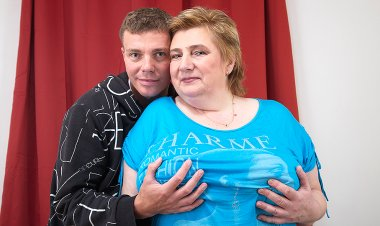 Huge Breasted BBW Getting Fucked by Her Toy Boy - Mature.nl