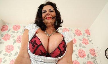Big Breasted British Mature Slut Getting Very Naughty - Mature.nl