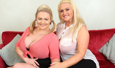 Big Breasted British Old and Young Lesbians Having a Ball - Mature.nl