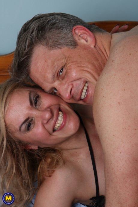Naughty British housewife loves fucking and sucking