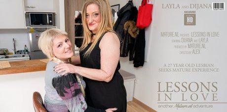 27 year old Dijana needs lesbian experience from matue Layla
