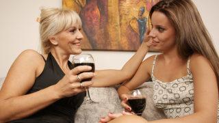 Hot Lesbian Babe Doing Her Way Older Girlfriend – Mature.nl