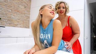 Hot Babe Licking a Curvy Mature Lesbian – Mature.nl
