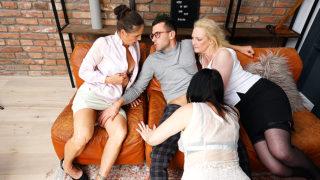 One Lucky Guy Fucking Three Mature Nymphomaniacs – Mature.nl